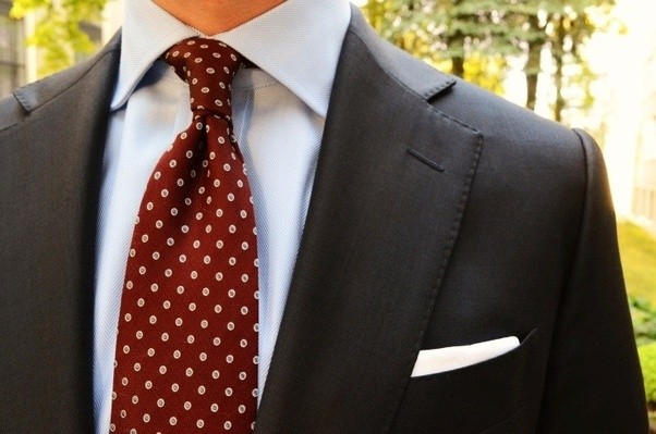 What Colour Ties Can I Wear With Blue Shirt And Black Suit