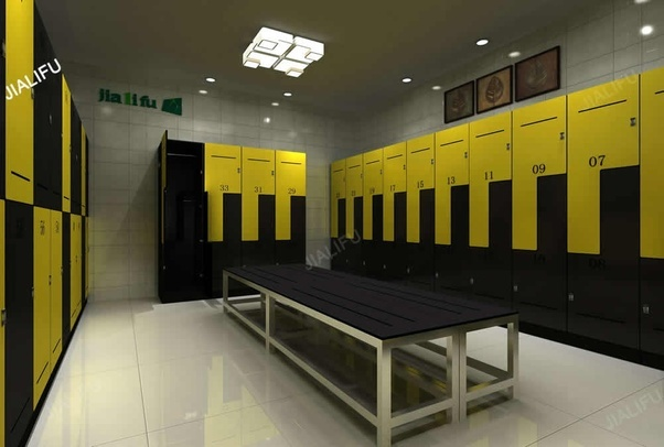 Why Do Changing Room Lockers Adopt An L Shape As Seen In