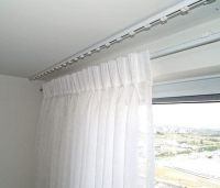 Can You Hang A Curtain Rod From The Ceiling | Curtain ...