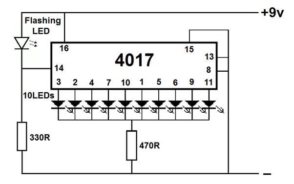 simple circuit using logic gates
