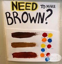 Which colors combine to make brown? - Quora
