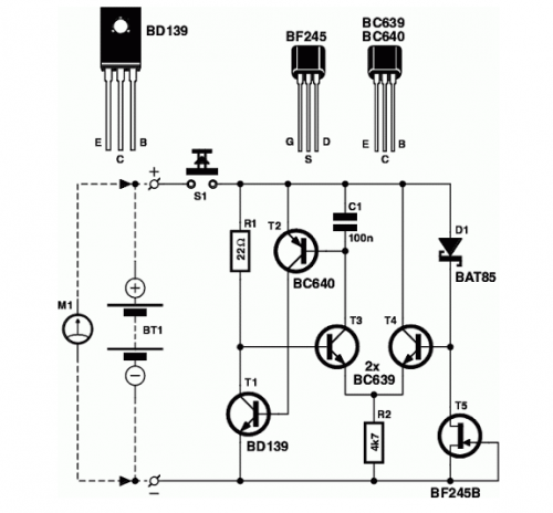 fuelcell battery tester schematic