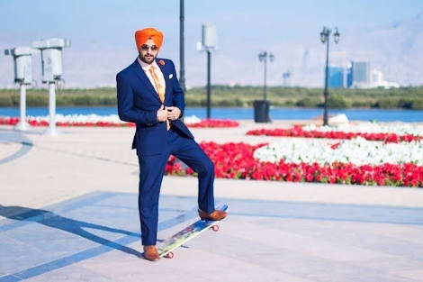 What Color Turban Should I Wear With A Blue Suit Light