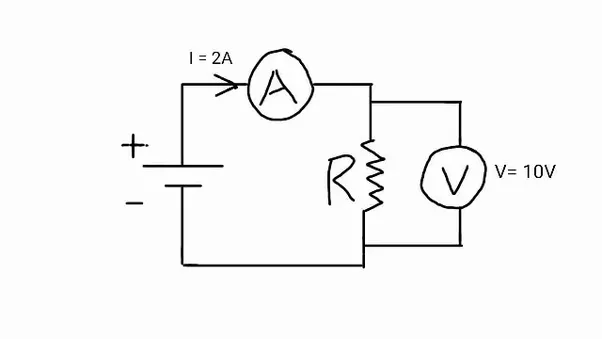 in the electric circuit diagram below possible locations