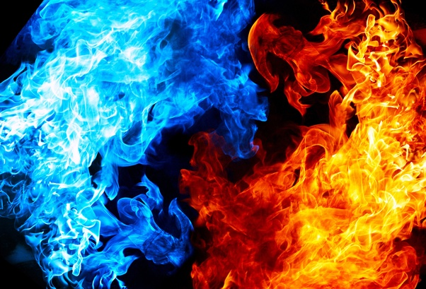 Why Is A Blue Flame Hotter Than A Red Flame Quora