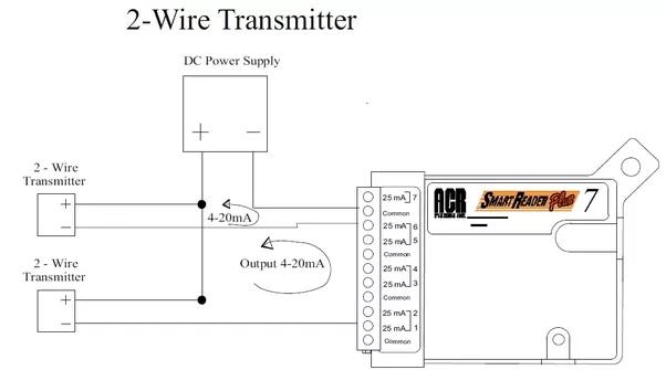 transducer wire diagram
