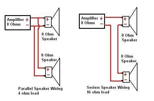 6 4 ohm speaker wiring diagram