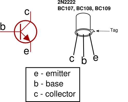 how does a transistor work circuit diagram image