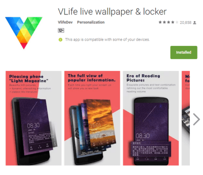 What are best live wallpapers available for latest android version (Lollipop or Marshmallow ...