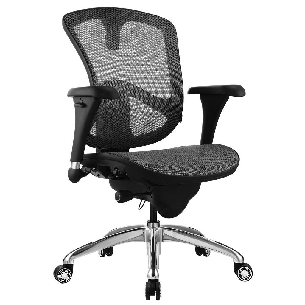 Grey Desk Chair Bevco M6088mm Bk 6000 Series Mesh Office Chair 18
