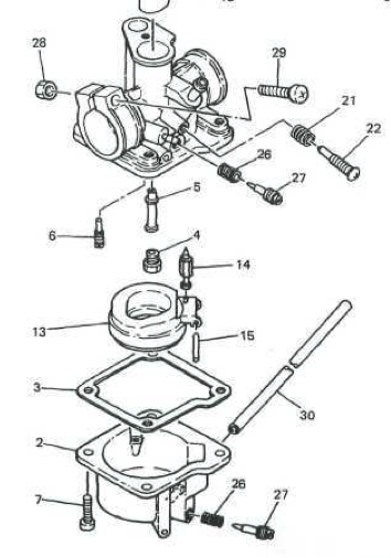 1980 honda express carburetor