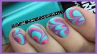 Water Marble Nail Art (Tips & Tricks!) | Qtiny.com