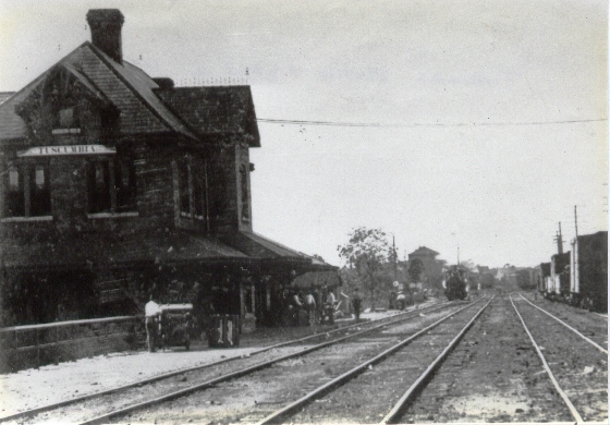 "Tuscumbia station - ""Back in the day."""