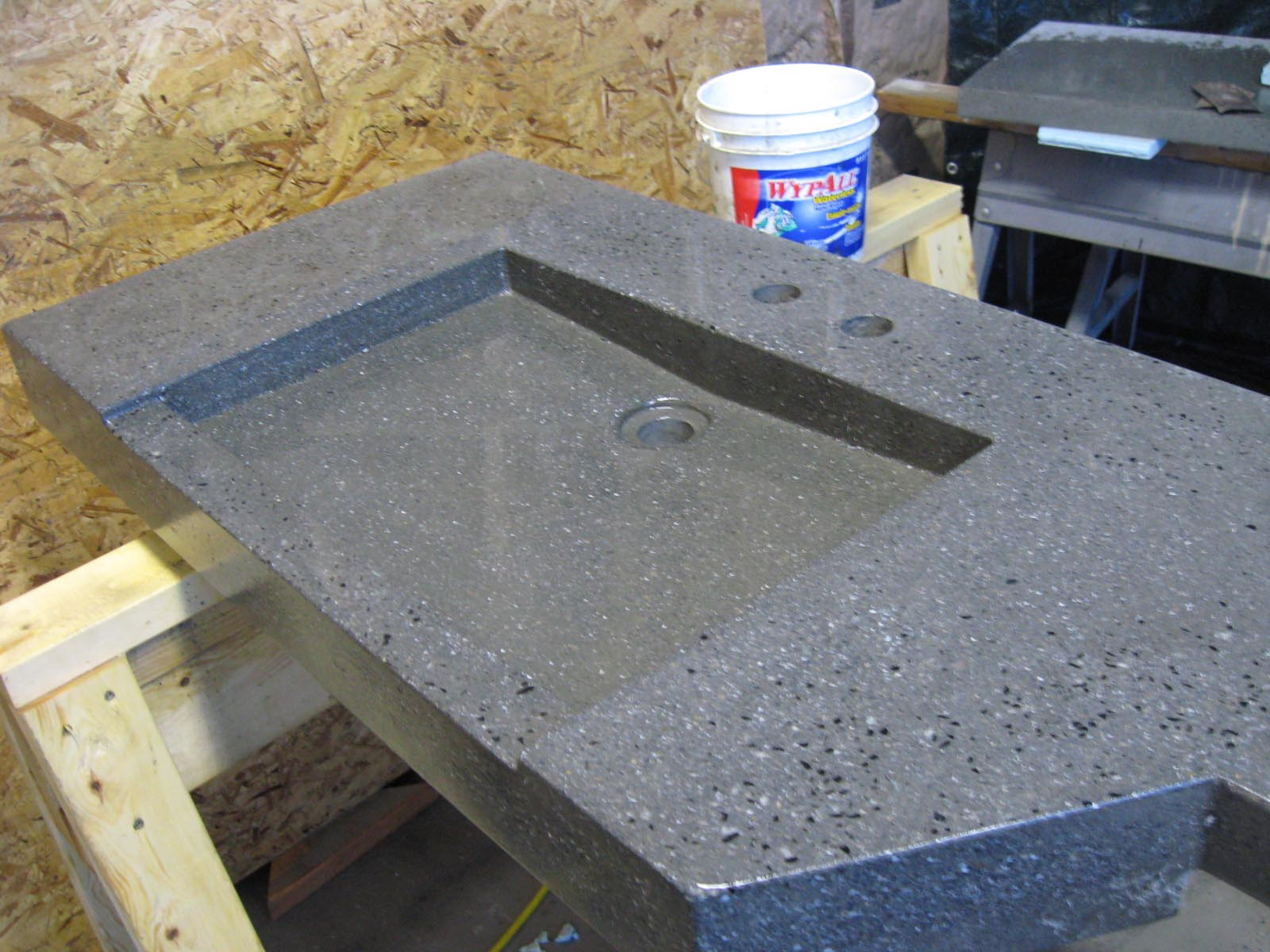 Concrete For Countertops Mix Quikrete Countertop Mix Outdoor Concrete Counter With