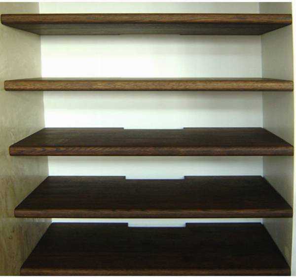 Dark Brown Floating Shelves Qualita