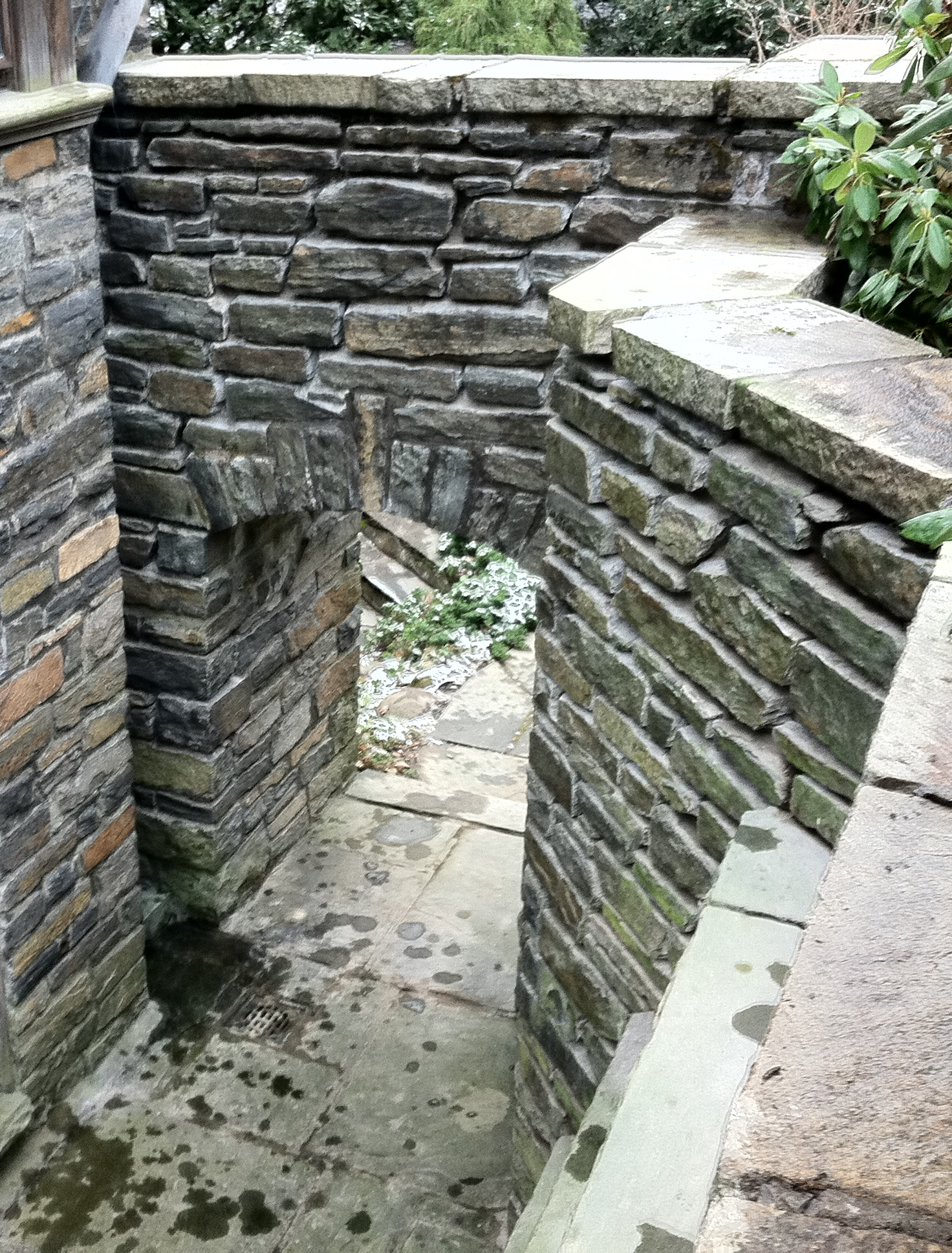 Restored Stone Work in Western NY