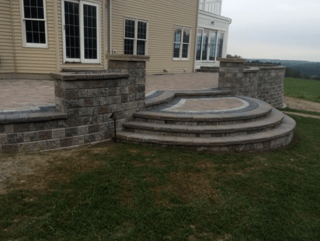 Brick paving in buffalo quality landscaping and stone for Landscaping rocks buffalo ny