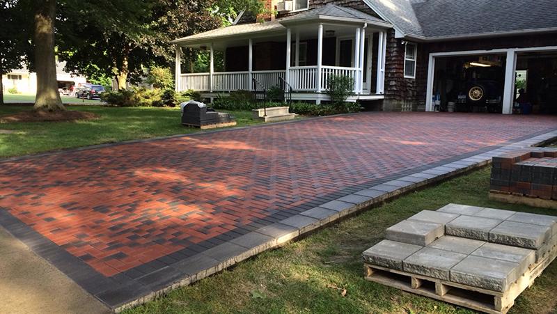 Custom Brick Paving in Erie County