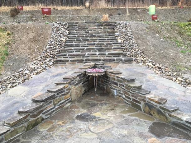custom stone paving buffalo ny