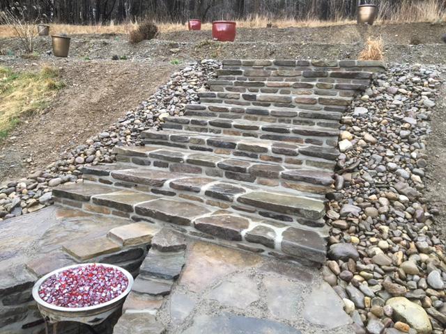 custom stone paving