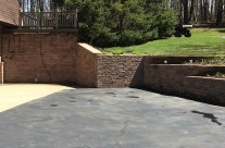 Custom Driveway Retaining Wall Erie County