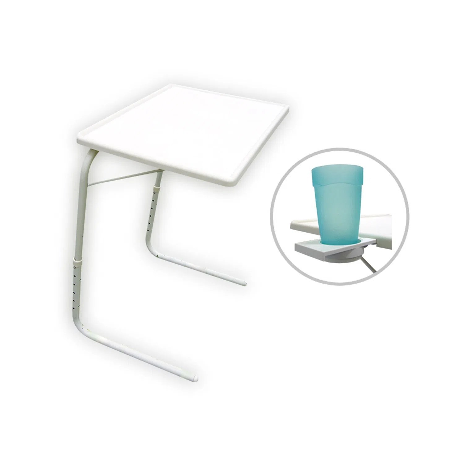 Mesa Table Mate Table Mate Ii Posavasos Blanco Qualityproducts