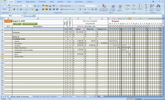 Category Construction Forms - Construction World - construction materials list template