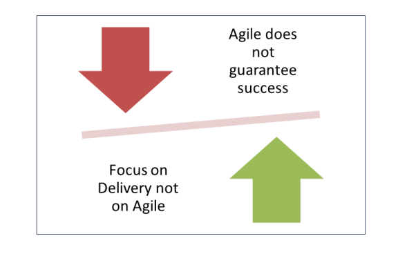 Focus on Delivery not on Agile