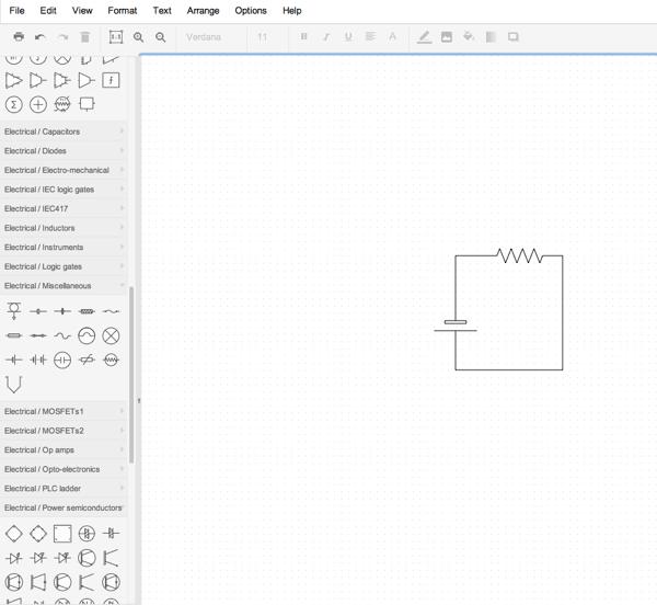 circuit diagram applet