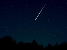 Symbolbild Sternschnuppe aus Pixabay dark-2024127_640