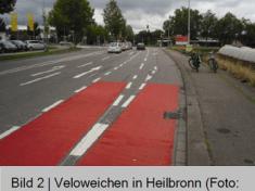Velo-Weiche Heilbronn, Charlottenstrasse