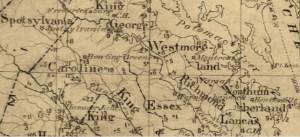 W.P. Quarles Birthplace, Caroline County, Va. 1752