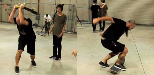 lou ruining skateboarding