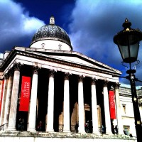 Trafalgar Square e Whitehall!