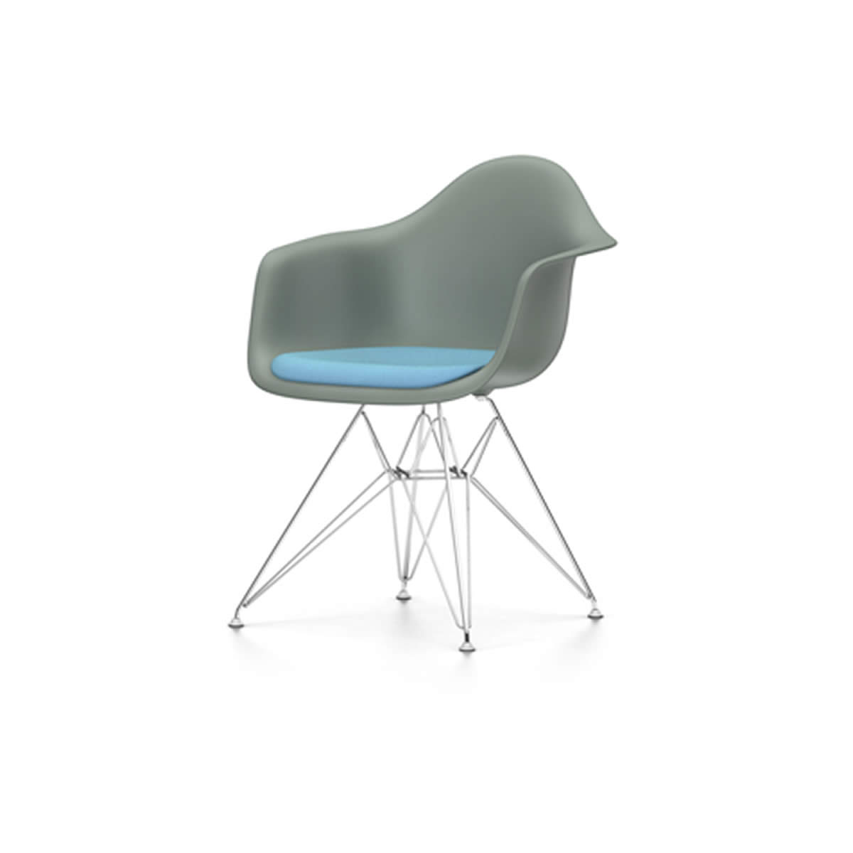 Mousse Chaise Rembourrage Chaise Vitra Dar Rembourrage Assise Gris Mousse