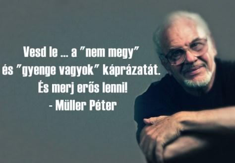 6 idézet Müller Pétertől, hogy motivációt nyerhess a mindennapokra