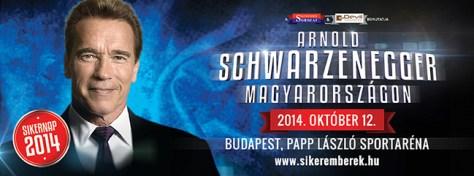 Schwarzenegger Magyarországon - 2014. októberében!