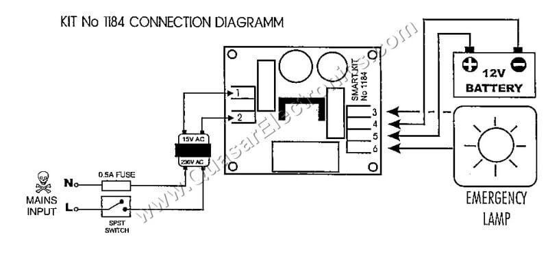 lighting board wiring kit