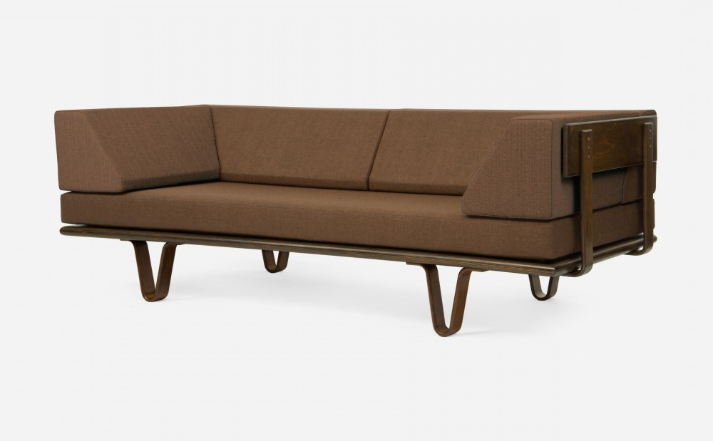Platform Daybed Modernica Sofa Daybed Bentwood - Quasi Modo Modern