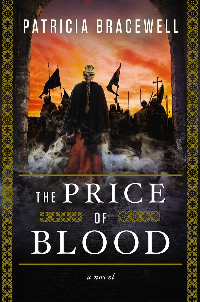 Book Cover The Price of Blood by Patricia Bracewell