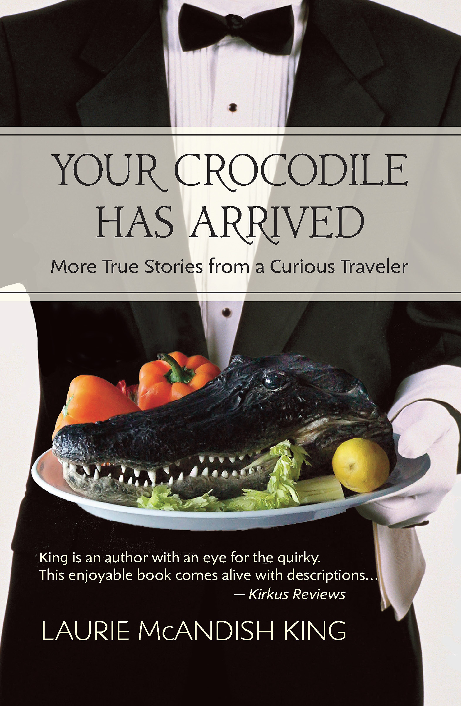 Your Crocodile Has Arrive Book Cover