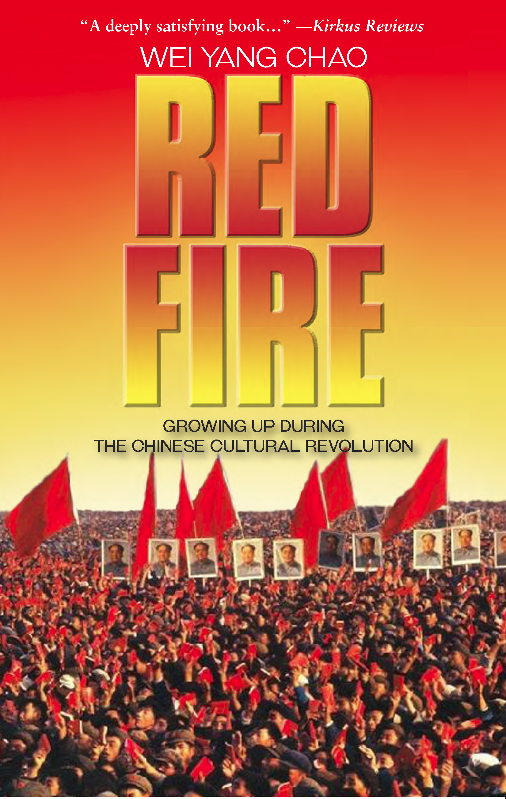 Red Fire a novel Book Cover