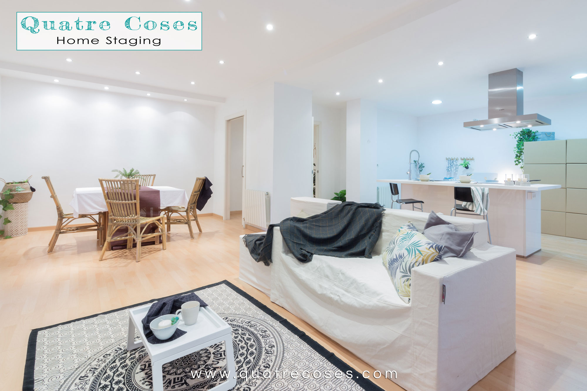 Home Staging Salon Quatre Coses Home Staging En Calle Anoia