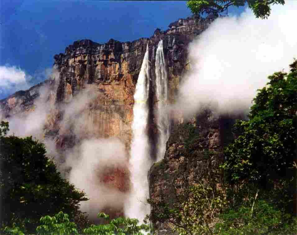 Angel Falls Wallpaper America Que Bonito Es Viajar