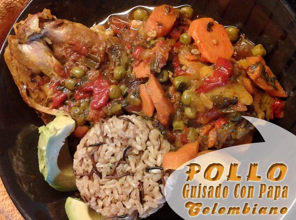 Pollo guisado con papa colombiano que cocinar con pollo for Que cocinar con pollo