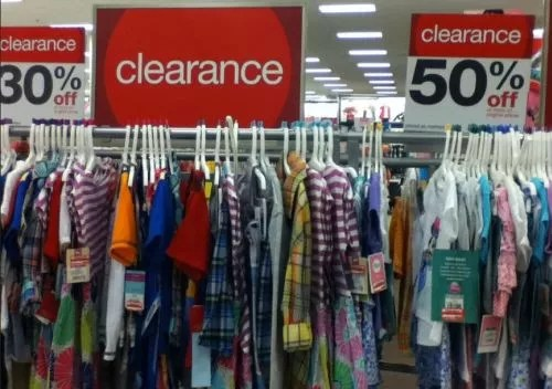 Target Clearance Round Up Lots Of Clothes On Clearance