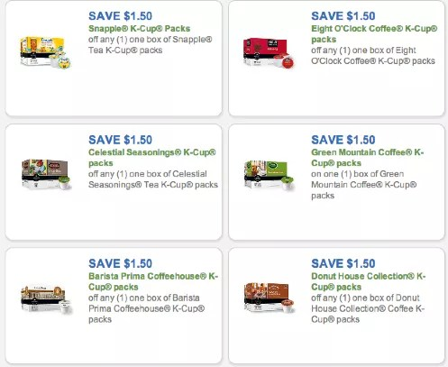 K-Cup coupons - print $19 in K-Cup coupons! Green Mountain, Newman\u0027s