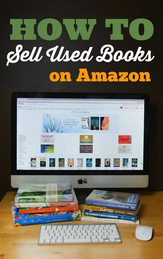 How to sell used books on Amazon - web editor job description