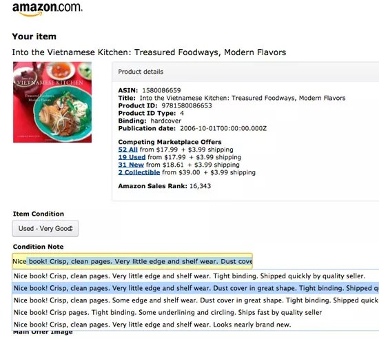 How to sell used books on Amazon - photo editor job description