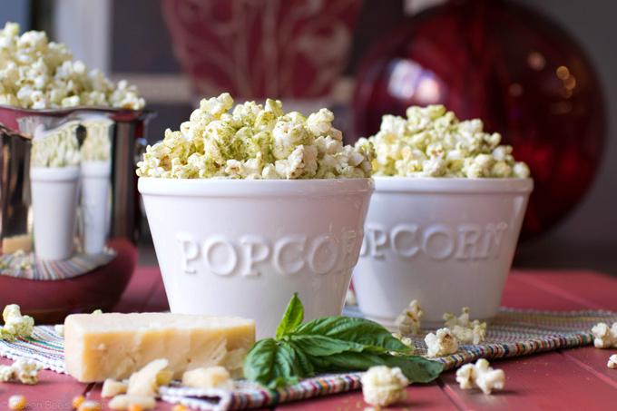 Pesto Popcorn